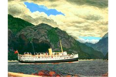 At a news gathering held at the Vancouver home of art collectors Jacques Barbeau and Marguerite Owen, it was revealed that the couple has offered the Canadian Artists, Whistler, Vancouver Island, Limited Edition Prints, British Columbia, New Art, Art Museum, Oil On Canvas, Folk Art