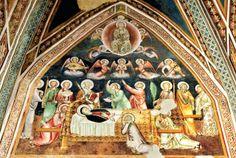 La Dormitio della Vergine - Chiesa di Santa Maria Assunta a Vallo di Nera