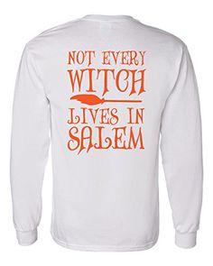 Not Every Witch Lives in Salem Long Sleeve T-Shirt Southe... https://www.amazon.com/dp/B01J0LTSD4/ref=cm_sw_r_pi_dp_DMmMxb9HAJESR