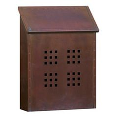 Craftsman style mailbox - $79  sc 1 st  Pinterest & Unique Doorbell Buttons | Ranch Style Craftsman Mailboxes and ...