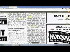 Historical newspapers were the Facebook of their day - recording the comings and goings of everyone in town. Join Crista Cowan as she shows you how to find newspapers on Ancestry.com and how best to search them. #genealogy