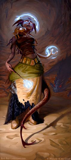 Dungeons & Dragons by Rob Rey - robreyart.com