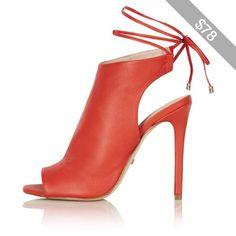 TopShop Robyn Soft-Tie Sandals