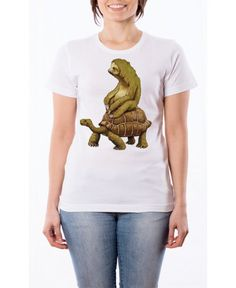 T Shirt Bradipo con Tartaruga