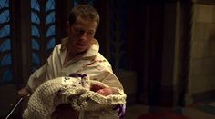 Sexiest moment in television history: Prince James defending his newborn baby with a sword. *swoon*