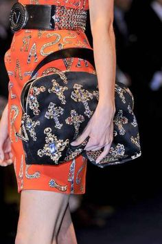 Versace  Fall 2012 Details
