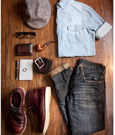 Man stuff - great clobber for the guy about town. Casual enough to look cool but dressy enough to be a style icon. We love it!