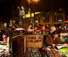 World's Top Night Markets, Barranco NIght Market, Lima, Peru