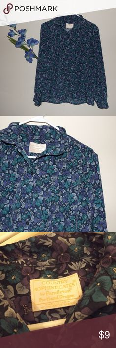 Country Sophisticates Pendleton Size 8 Career Country Sophisticates Pendleton Size 8 Country Sophisticates by Pendleton Tops Button Down Shirts