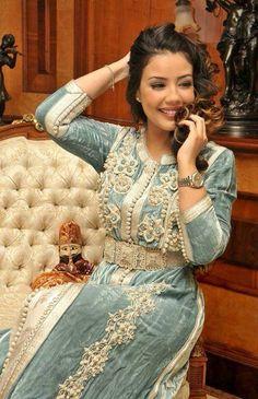 couture caftan | Caftan beldi haute couture et Robe de soirée orientale