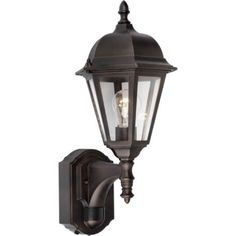 Forte Lighting 1-Light Outdoor Sconce - Finish: Antique Bronze