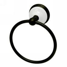 "Kingston Brass 6"" Towel Ring BA1114ORB Victorian Collection Oil Rubbed Bronze - efaucets.com $37.02"