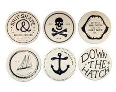 Maritime Coasters by Izola