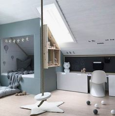 53 Ideas Bedroom Loft Ideas Kids Children For 2019 Bedroom Loft, Kids Bedroom, Bedroom Decor, Home Design, Feng Shui, Decoration Inspiration, Room Inspiration, Decor Ideas, Cool Beds