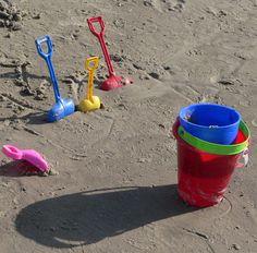 Beach Tools - Grand Beach - Manitoba, Canada