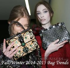 Fall/ Winter 2014-2015 Handbag Trends - Fashionisers