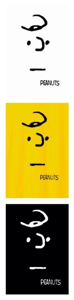 Charlie Brown, minimalist poster art, illustration, PEANUTS.❤️