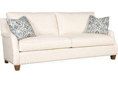 King Hickory Living Room Santa Cruz Fabric Sofa 3200   Clauser Furniture    Berne, IN