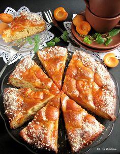 Smaczna Pyza: Ciasto miodowe z morelami - http://smacznapyza.blogspot.com/2013/08/ciasto-miodowe-z-morelami.html