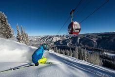 Colorado bluebird day at Aspen