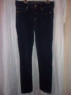 American Eagle Outfitters Jeans Women Regular 4 #AmericanEagleOutfitters #StraightLeg