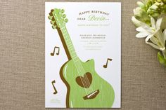 musical Children's Birthday Party Invitations by Mandy Gordon at minted.com