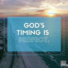 When things aren't working out like you planned, be patient. Stop trying to move ahead of God. His timing is perfect. Biblical Quotes, Bible Verses Quotes, Christian Encouragement, Words Of Encouragement, Identity In Christ, Gods Timing, Jesus Is Lord, Praise And Worship, Gods Promises