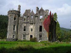 dunans castle | Back view Dunans Castle | Flickr - Photo Sharing!