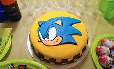 torta de sonic - Buscar con Google Sonic The Hedgehog Cake, Sonic Cake, Super Mario Cake, Cake Designs, Party Time, Fondant, Cupcake Cakes, Bakery, Birthdays