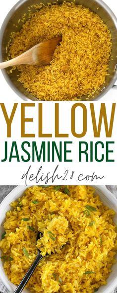 YELLOW JASMINE RICE