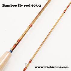 Bamboo fly fishing rod 603-2