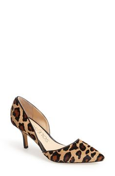 """I've always thought of leopard as a """"statement"""" pattern, but these shoes go with everything!"""