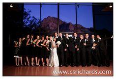 Tucson, AZ wedding venues with mountain views.