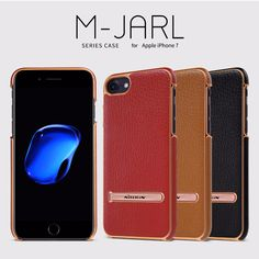 Original Nillkin M-Jarl Leather Phone Cases for Apple iPhone 7 Luxury Phone Cover Case with Adjustable Stand Celular Funda