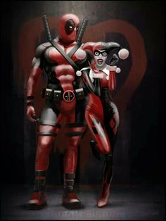 Deadpool and Harley
