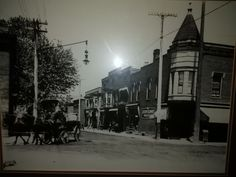 Benson and Reading Rd. - no date.