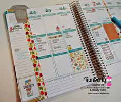 Kimberly's Crafty Spot: Let's Plan! featuring Annie's Paper Boutique Stamps