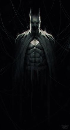 twojoe: The Dark Knight by Frankie Perez. (via ArtStation - The Dark Knight, Frankie Perez) Batman Wallpaper, Batman Artwork, Batman Poster, Comic Book Characters, Comic Character, Comic Books Art, Comic Art, Batman The Dark Knight, Bd Comics