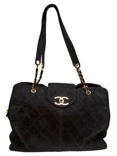 7bae26dca10c CHANEL VINTAGE - Supermodel tote bag 10 Vintage Chanel Bag