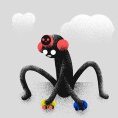 Ori Toor art animation fun loop