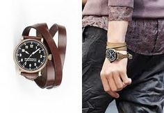 burberry wrap strap watch