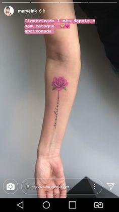Rose tattoos on wrist, simple forearm tattoos, piercings, piercing tattoo, mom tattoos Mom Tattoos, Cute Tattoos, Body Art Tattoos, Small Tattoos, Tattoos For Women, Tattoo Mom, Simple Forearm Tattoos, Rose Tattoos On Wrist, Colour Tattoo For Women