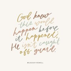 """Cassidy Rowell Art on Instagram: """"✨What to do when things don't go how you planned! August was supposed to be the best month ever. I had just left my job and went full time…"""" Don T Go, Bless The Lord, Bible Study Tools, Gods Glory, Just Leave, Women Of Faith, Faith Prayer, God Loves You, Scripture Verses"""