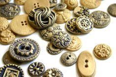 Edible Chocolate Candy Brass Buttons by andiespecialtysweets, $90.00