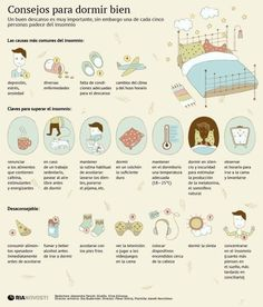 Tener un descanso apropiado es vital para la salud. | 23 Infografías que te ayudarán a vivir una vida más sana