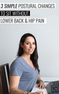 16 ideas how to improve posture desks Lower Back Pain Stretches, Lower Back Pain Relief, Hip Pain, Low Back Pain, Knee Pain, Piriformis Syndrome Treatment, Lumbar Pain, Desk Workout, Piriformis Muscle