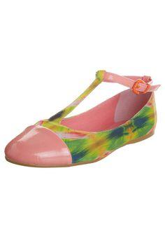 Even - Ballerina's met enkelbandje - Roze Ballerina, Flats, Shoes, Fashion, Loafers & Slip Ons, Moda, Zapatos, Ballet Flat, Shoes Outlet