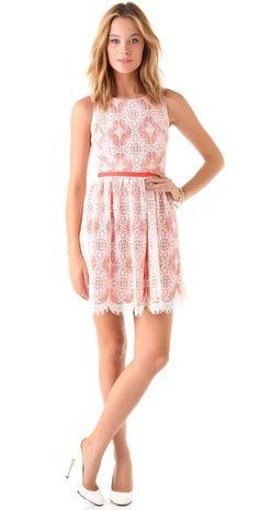 Shoshanna Lace Matina Dress