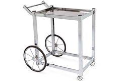 Vintage Chrome Bar Cart on OneKingsLane.com
