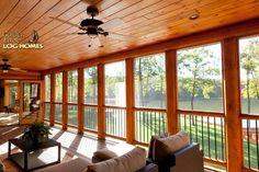 Screened Porch Interior